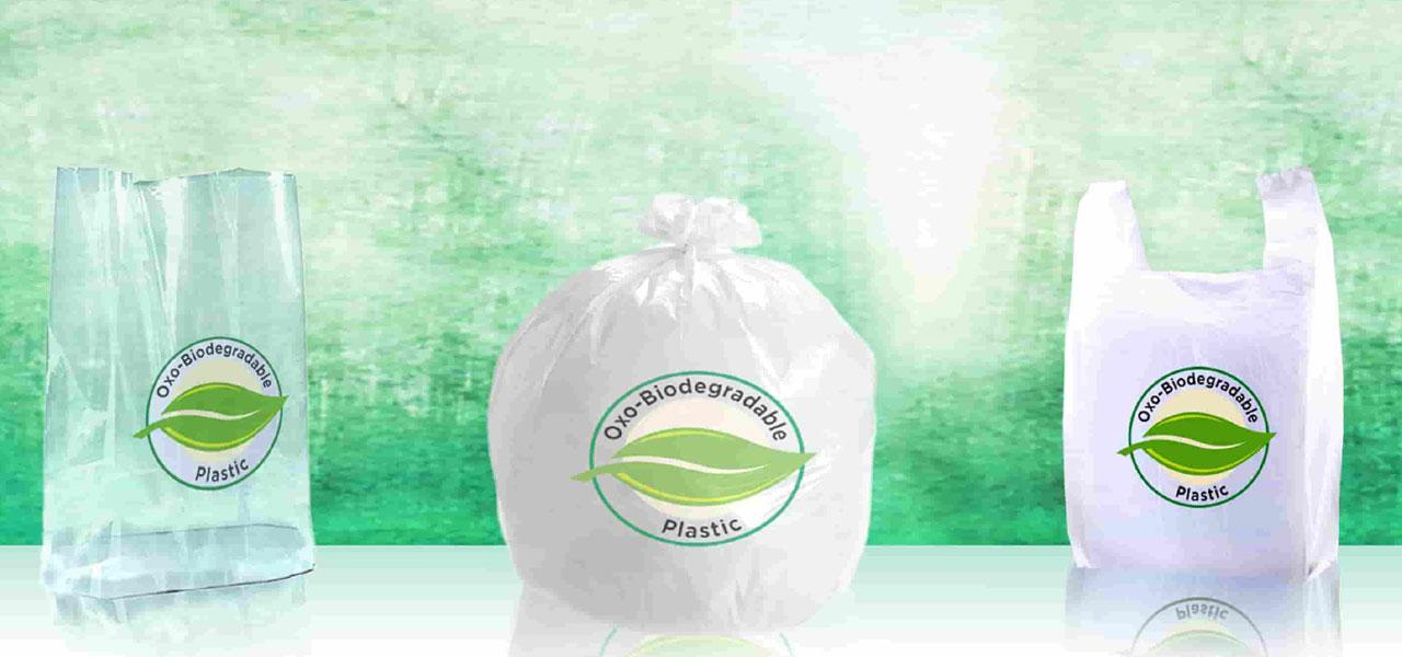 Oxo-Biodegradable Plastic Slider